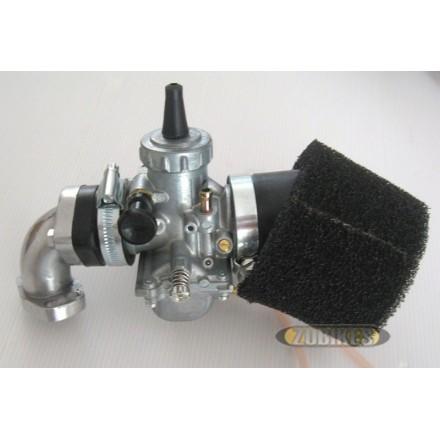 Kit carbu Mikuni VM24 + filtre mousse + pipe