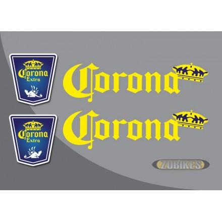 """Sticker """"CORONA"""" pour cadre Dax (le jeu de 4)"""