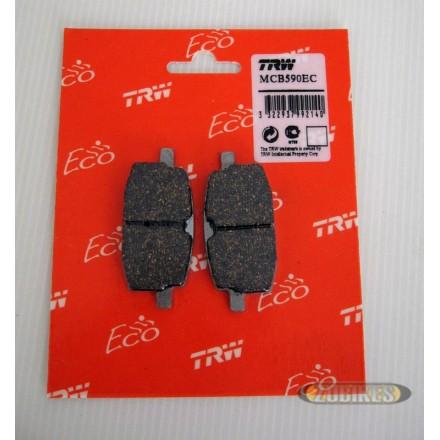 Plaquette frein disque TRW 155mm AV Dax/MK/PBR/T Rex