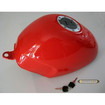 Réservoir PBR trappe Avia rouge brillant