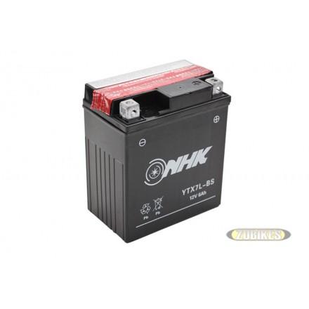 Batterie 12V6Ah électrolyte YTX7L-BS PBR/Cobra/V Raptor