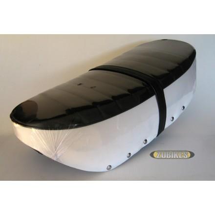 Selle Dax 4,5l Noir et Blanc (réservoir plastique)