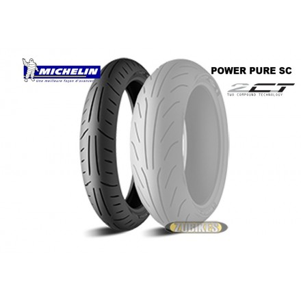 Pneu Michelin Power Pure SC 110/70-12 AV