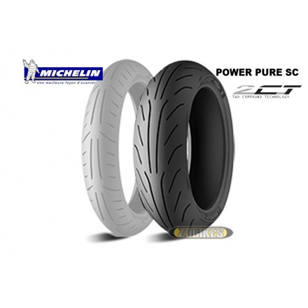 Pneu Michelin Power Pure SC 120/70-12 AR