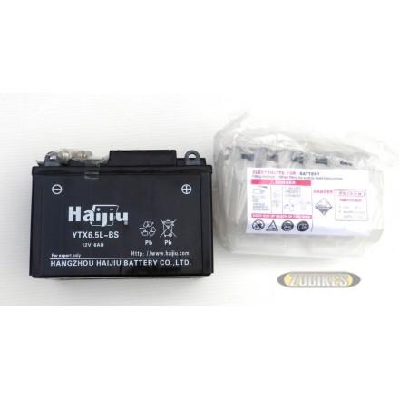 Batterie 12V6Ah électrolyte YTX6.5L-BS ACE