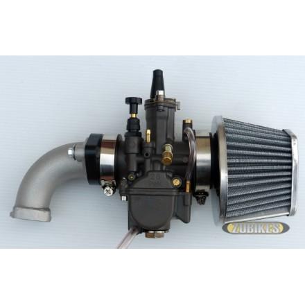 Kit carbu OKO 28 PowerJet + filtre cornet + pipe