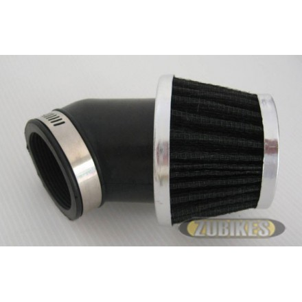Filtre cornet court coudé à 45° 48mm PE28 OKO28