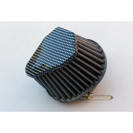 Filtre cornet ovale 42mm Carbone PE24 PZ30 VM24