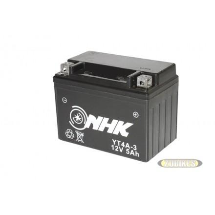 Batterie 12V5Ah Gel YT4-3 Dax/MK/T Rex