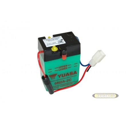 Batterie 6V2Ah 6N2A-2C Dax
