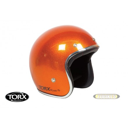 Casque Wyatt Glitter Orange