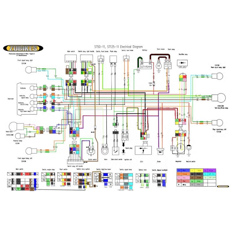T Rex 450 Wiring Diagram | Repair Manual