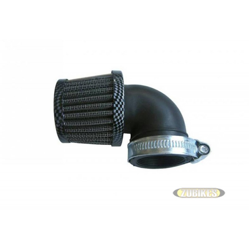 Filtre cornet coudé à 90° 35mm Carbone PZ17 PZ19