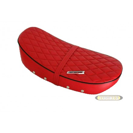 "Selle Dax 12V basse ""Diamond"" Rouge"