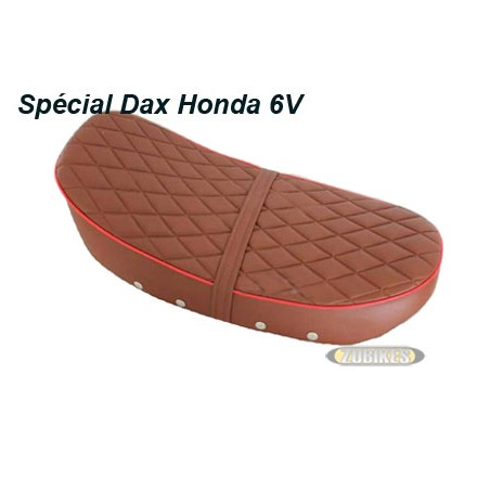 "*Selle Dax 6V basse ""Diamond"" Marron"