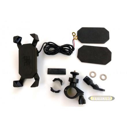 Support téléphone mobile Chargeur/Prise USB