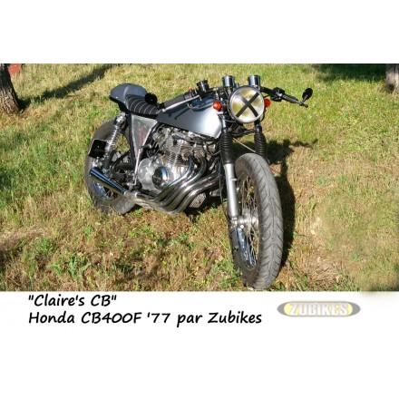 """CB400F Honda Café Racer """"Claire's Bike"""""""