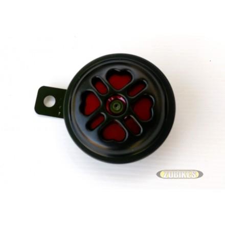Klaxon 12V Noir et Rouge 100dB
