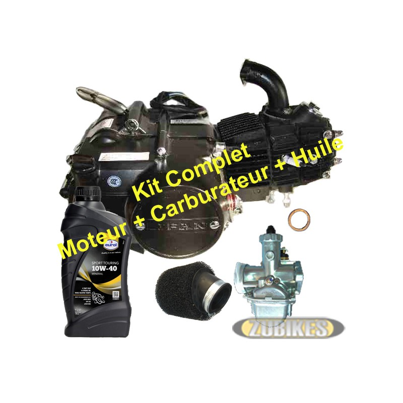 Kit Moteur 125 LIFAN Noir + access
