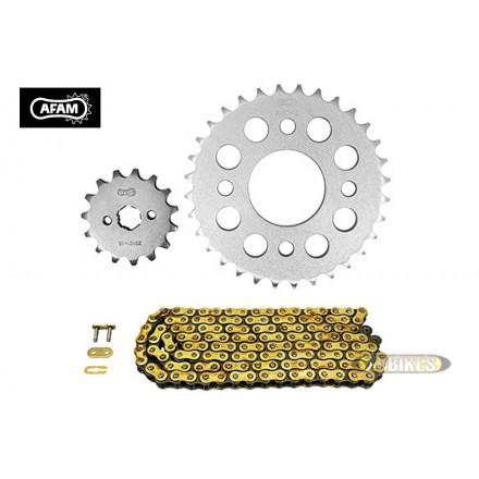 Kit Chaine AFAM 420 15x32 Dax 125