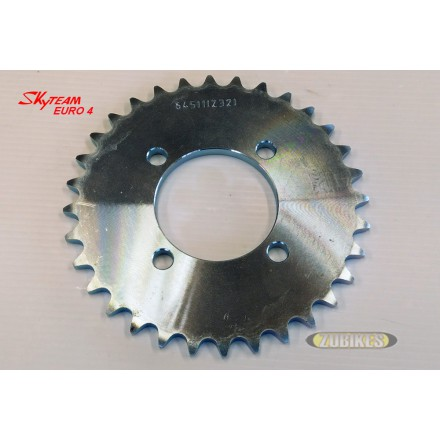 Couronne transmission Z32 Dax 125 injection Skyteam E4