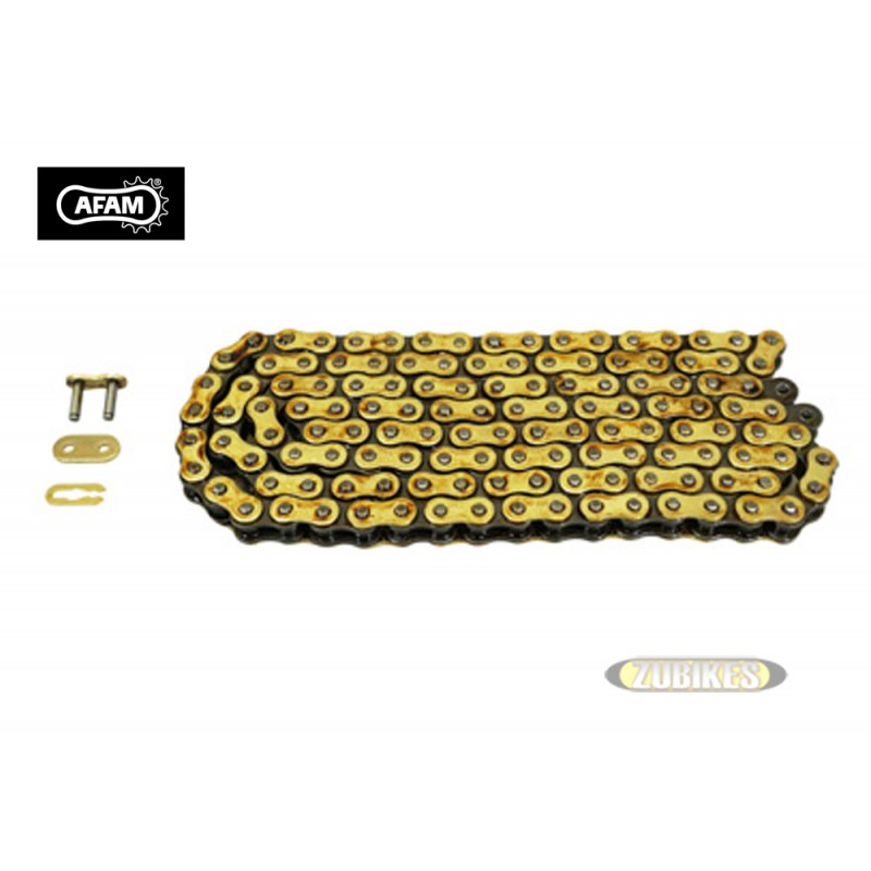 Chaine 420 Renf AFAM 140 maillons Gold