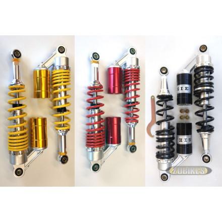 Amortisseurs gaz bonbone couleur 330 mm (la paire)