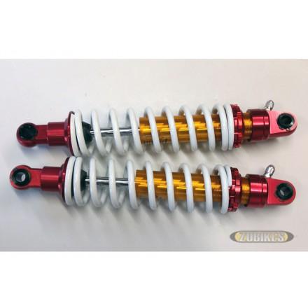 Amortisseurs gaz 330 mm multicolore (la paire)
