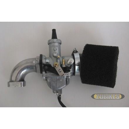 Kit carbu Mikuni PZ30 + filtre mousse + pipe