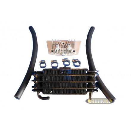 Radiateur Huile Noir (le kit)