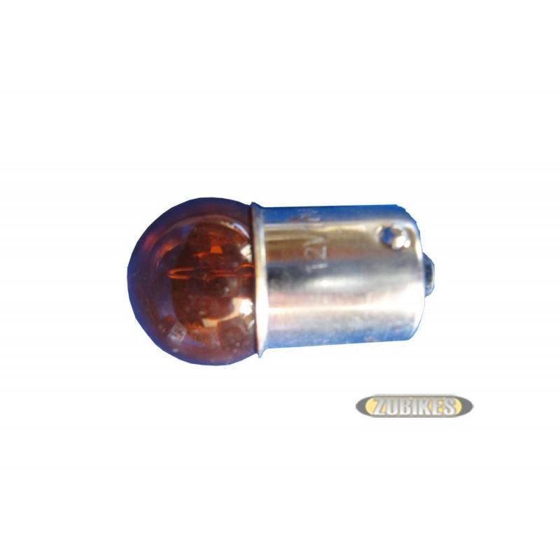 Ampoule cligno BA15S 12V 10W ORANGE