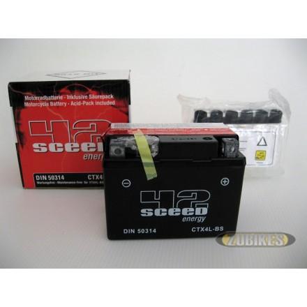 Batterie 12V3Ah électrolyte CTX4L-BS Dax/MK/T Rex