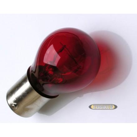 Ampoule AR BAY15D 12V 18/5W  rouge