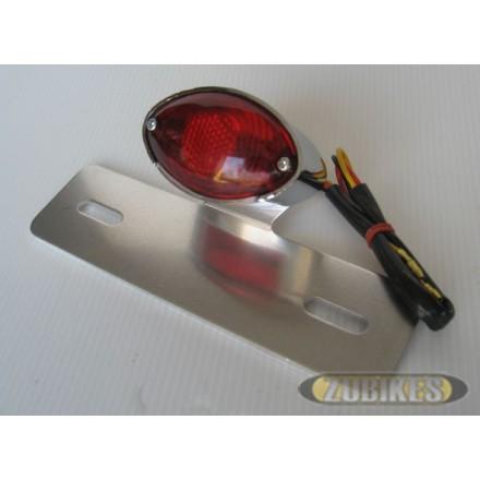 Feu AR cateye rouge avec sup plaque