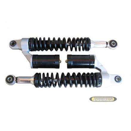 Amortisseurs gaz noir 330 mm (la paire)