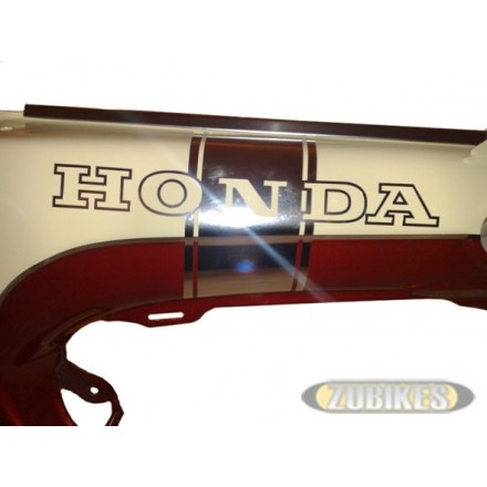 "Sticker Dax ""HONDA"" chrome (D+G)"