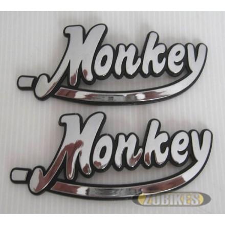 Emblême de réservoir Monkey Chrome