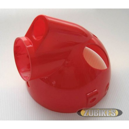 Bloc optique Monkey/ZA/Cobra plastique Rouge