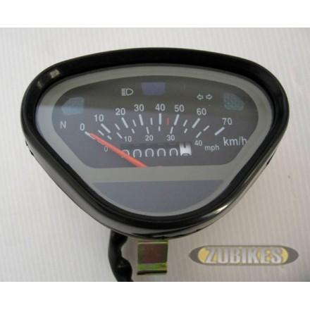 Compteur 70km/h Noir Dax (50cc)