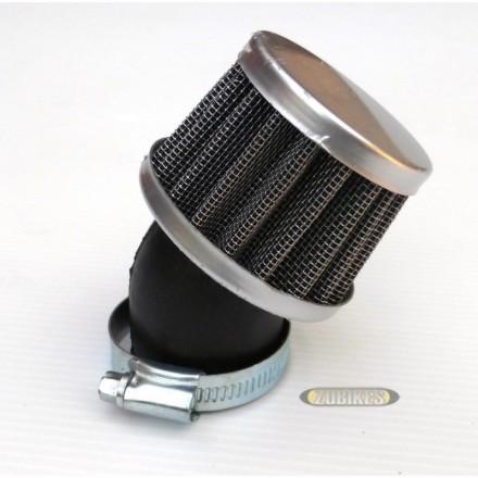 Filtre cornet court coudé à 45° 42mm PE24 PZ30 VM24