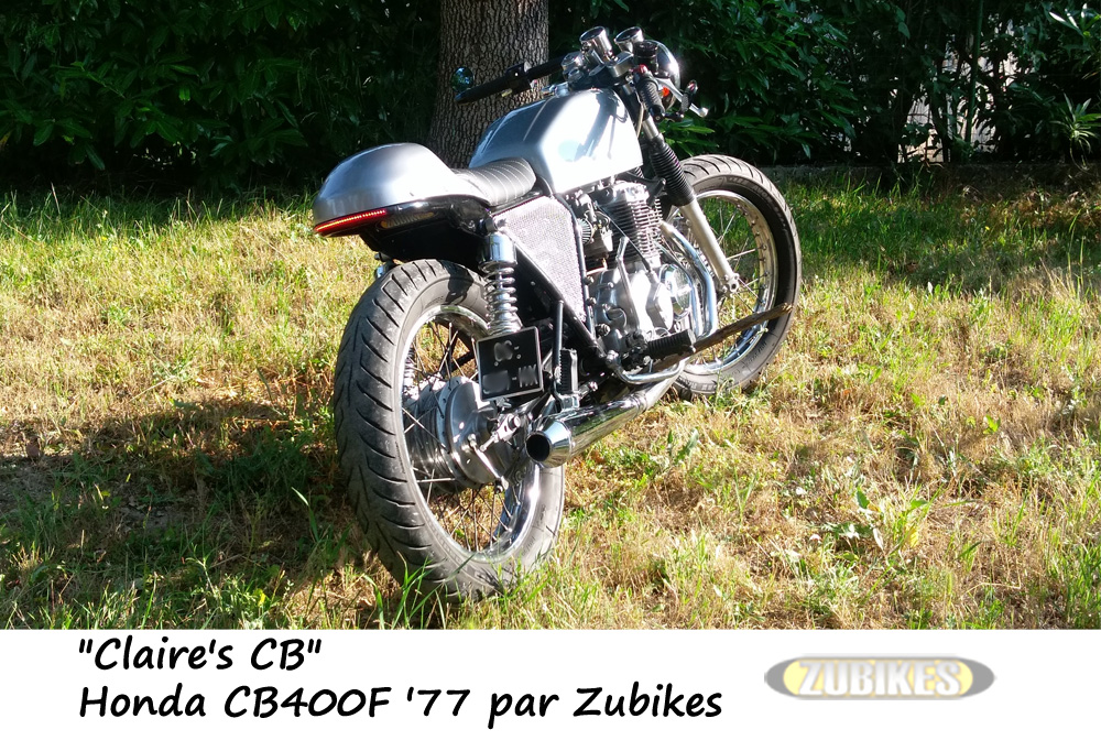 CB400Four 1977 Café Racer by Zubikes