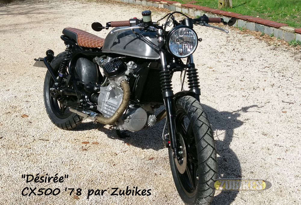 CX500 scrambler by Zubikes