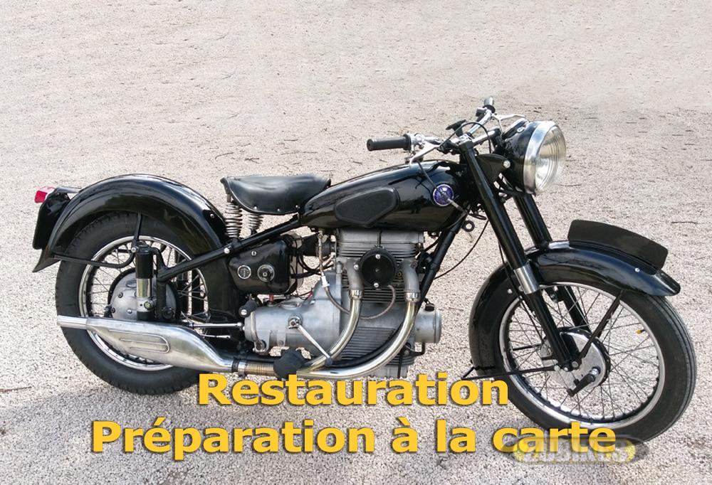 RESTAURATION / PREPARATION